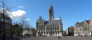 markt en stadhuis middelburg