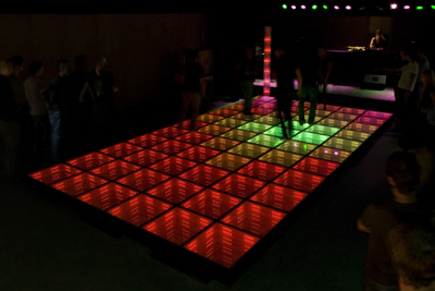 Sustainable Dance Floor Studio Roosegaarde