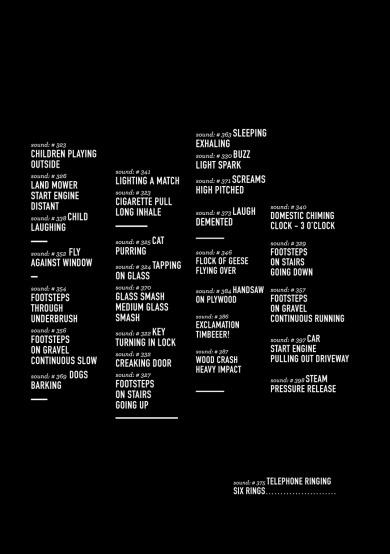 29 Sounds (2012)