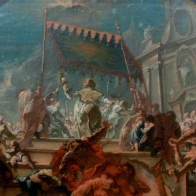 Triumph des heiligen Norbert über Tanchelm